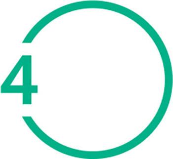 Circle number 4 b
